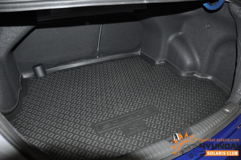 багажник хендай солярис хэтчбек фото