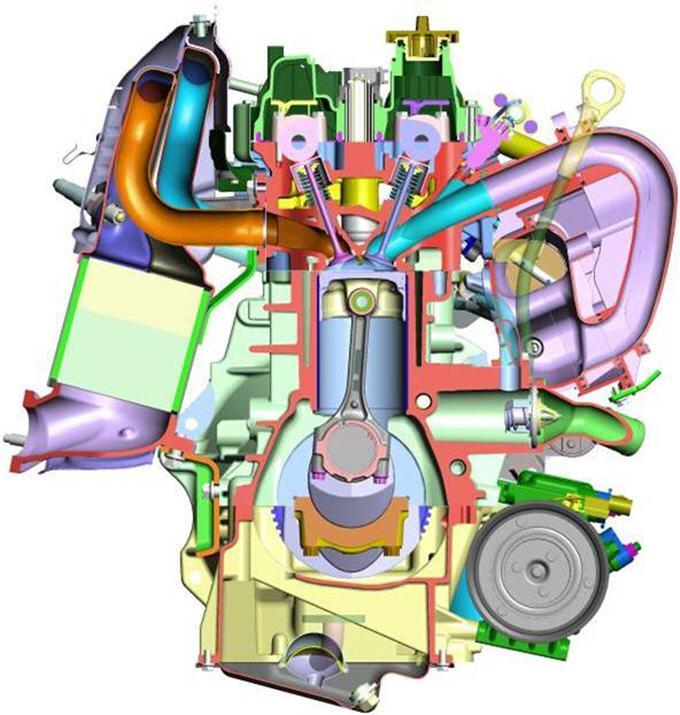 Двигатель объемом 1.4 л