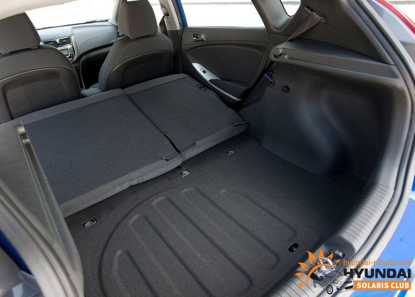 Хендай солярис фото багажника