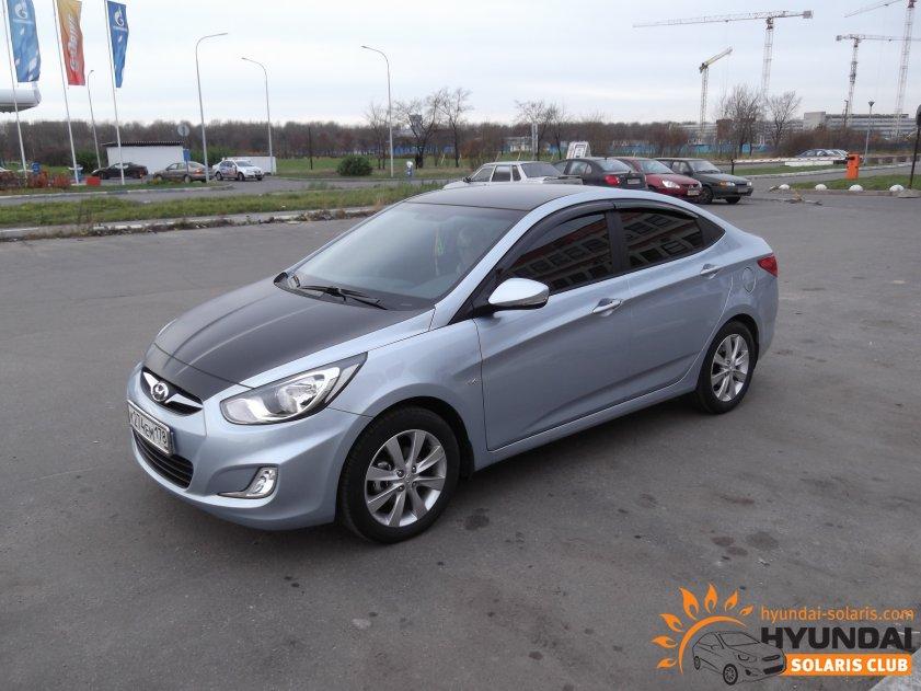 Тюнинг Hyundai Solaris фот…