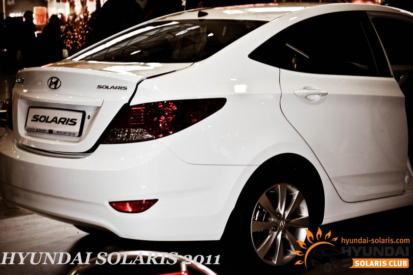 Солярис белый седан фото