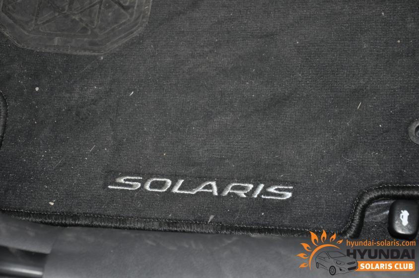 1 коврик водителя для хендай солярис купить отдых нужно брать