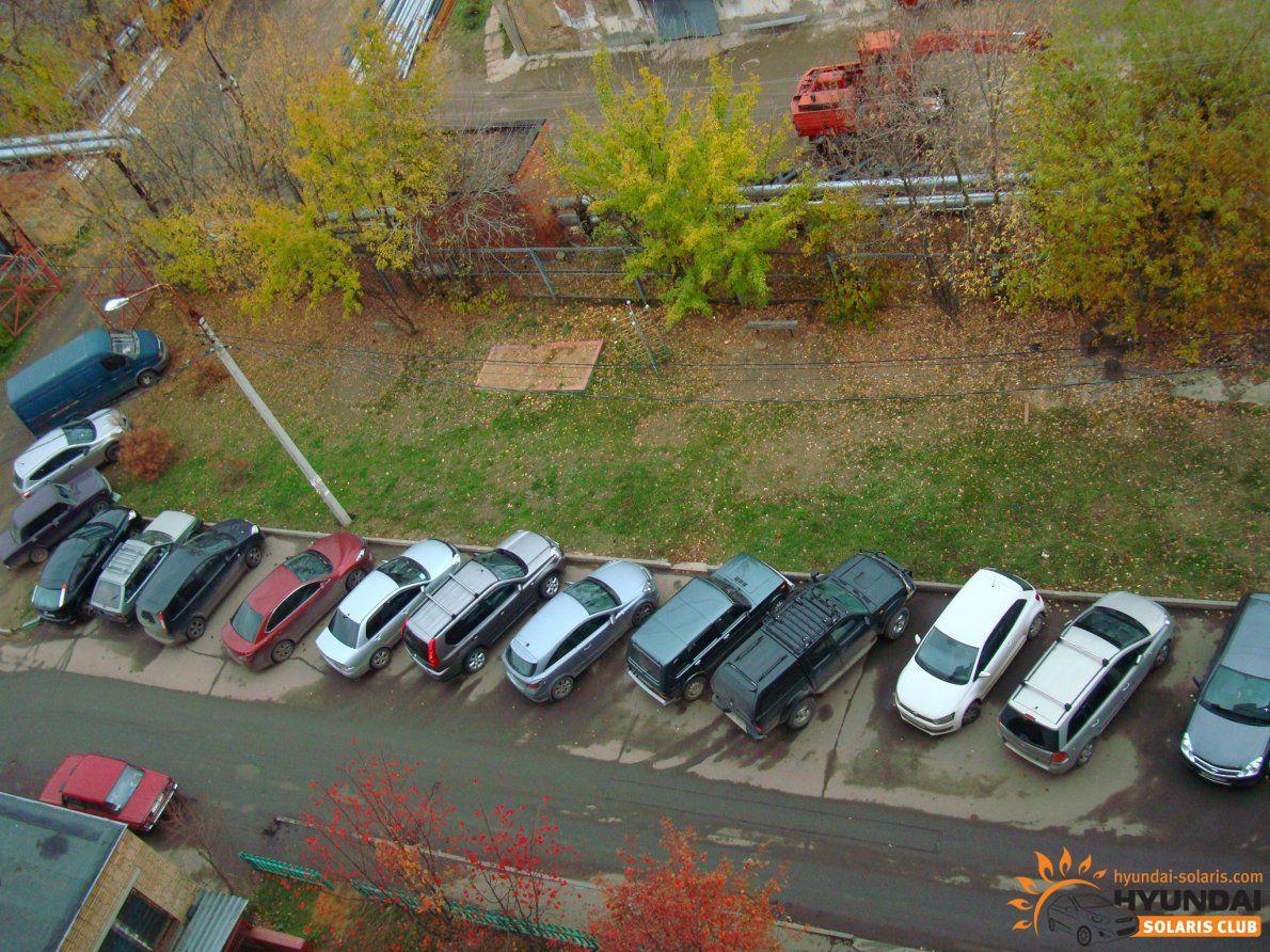 Закон о парковках во дворах видел прошлое