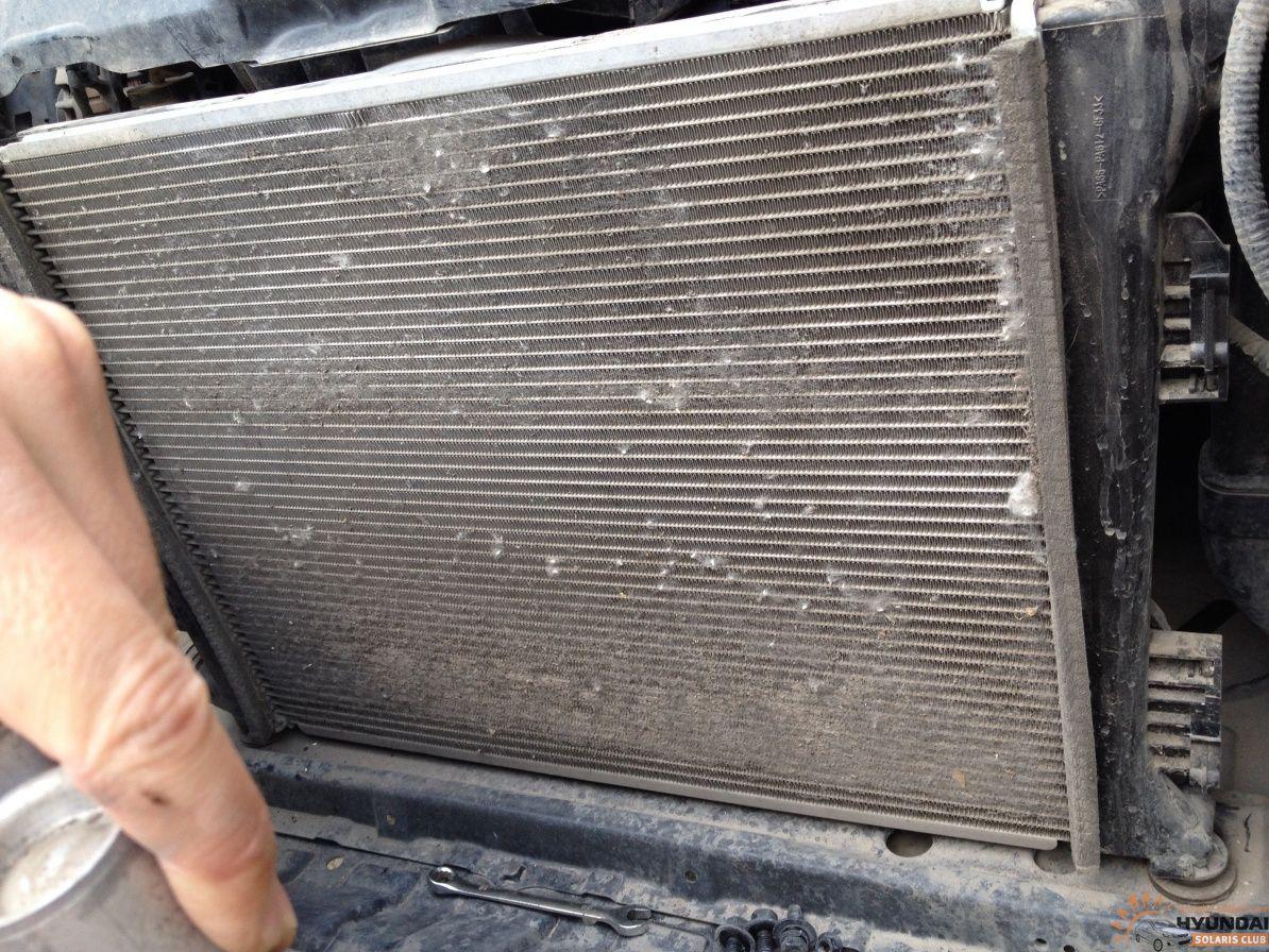 Промывка радиатора охлаждения двигателя своими руками 45