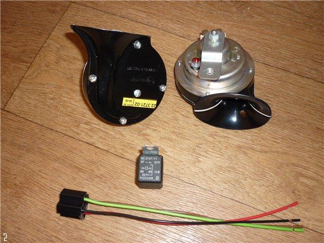 Замена сигнала ваз-2110 схема.